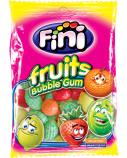 Įvairių vaisių skonių kramtomoji guma Fini boom, 12 pak. po 90g