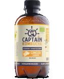 """Gėrimas """"Captain Kombucha"""" imbiero ir citrinos skonio, 12 pak. po 400ml"""