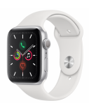 Apple Watch S5 44mm, baltas