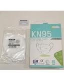 2 vnt. pakuotė - Apsauginės veido kaukės, KN95, sertifikuotos, 4 sluoksnių