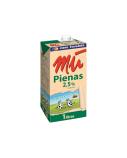 Pienas MŪ, be laktozės, 2.5, 1l  (12vnt.)