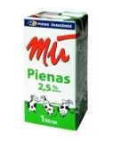 Pienas MŪ, pasterizuotas, 2.5, 1l  (12vnt.)