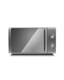 Caso Microwave oven M20 EASY 03309 20 L, Free standing, Rotary, 700 W, Silver, Defrost function