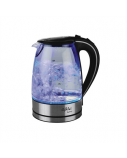 Gallet Montargis GALBOU742 Standard kettle, Glass, Stainless steel/Black, 2200 W, 1.7 L, 360° rotational base