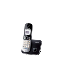Panasonic Cordless KX-TG6811FXB Black, Caller ID, Wireless connection, Phonebook capacity 120 entries, Conference call, Built-in display, Speakerphone