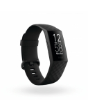 Fitbit Charge 4 Fitness tracker, GPS (satellite), OLED, Touchscreen, Heart rate monitor, Activity monitoring 24/7, Waterproof, Bluetooth, Black