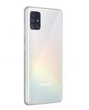 "Samsung Galaxy A51 White, 6.5 "", Super AMOLED, 1080 x 2400, Exynos, 9611, Internal RAM 4 GB, 128 GB, microSD, Dual SIM, Nano-SIM, 3G, 4G, Main camera 48+12+5+5 MP, Secondary camera 32 MP, Android, 10.0, 4000 mAh"