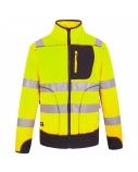 Džemperis Fleece Pesso geltonas/mėlynas, S dydis