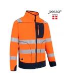 Džemperis Pesso Fleece oranžinis, mėlynas, 4XL dydis