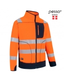 Džemperis Pesso Fleece oranžinis, mėlynas, L dydis