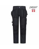 Kelnės Pesso Titan 125( Spandex/Cordura)pilkos, C56 dydis