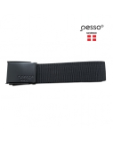 Juodas tekstilinis diržas PESSO (120 cm)