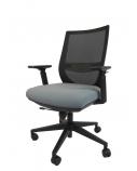 """Ergonomiška universali biuro kėdė """"Anholt"""" su atlošu ir reguliuojamo aukščio porankiais, juoda"""