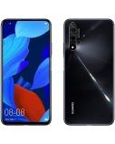 "Huawei Nova 5T Black, 6.26 "", IPS LCD, 1080 x 2340, HiSilicon Kirin, 980, Internal RAM 6 GB, 128 GB, Dual SIM, Nano-SIM, 3G, 4G, Main camera 48+16+2+2 MP, Secondary camera 32 MP, Android, 9.0, 3750 mAh"