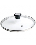 TEFAL 28097812 Glass Lid, 30 cm, Suitable for Talent PRO, Character, CHEF, Duetto, Intuition, Meteor, Pleasure, So Intensive series pans