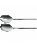 WMF Prego Salad spoons, Material Stainless steel, 2 pc(s), Dishwasher proof, Stainless steel
