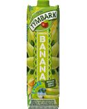 """Žaliųjų bananų-apelsinų-citrinų-greipfr. gėrimas 29% """"Banana"""", Tymbark, 12 pak. po 1 L"""