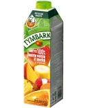 Įvairių vaisių ir morkų sultys 100%, Tymbark, 12 pak. po 1 L