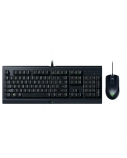 Razer  Cynosa Lite &  Abyssus Lite, Gaming, RGB LED light, Black, Wired, Keyboard and Mouse Bundle,
