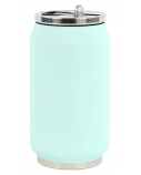 Yoko Design Soft Touch 1709 Isotherm tin can, Soft Mint, Capacity 0.28 L