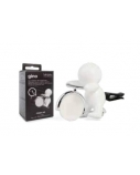Mr&Mrs GINO Scent for Car, White, with magnetic token, Fresh Air