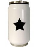 Yoko Design 1380/7821 Isothermal tin can, White/ black, Capacity 0.28 L,