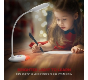 TaoTronics Stalinis šviestuvas TT-DL070 LED su USB, Baltas