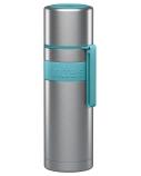 Boddels HEET Vacuum flask with cup Turquoise blue, Capacity 0.5 L, Diameter 7.2 cm, Bisphenol A (BPA) free