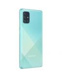 "Samsung Galaxy A71 A715 Blue, 6.7 "", Super AMOLED, 1080 x 2400, Qualcomm, Snapdragon 730, Internal RAM 6 GB, 128 GB, microSD, Dual SIM, Nano-SIM, 3G, 4G, Main camera 64+12+5+5 MP, Secondary camera 32 MP, Android, 10.0, 4500 mAh"