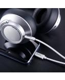 Kabelis/adapteris Baseus USB C kištukas, 3.5mm stereo kištukas, 1.2m baltas