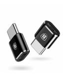Adapteris Baseus USB C kištukas, micro USB B lizdas, OTG funkcija