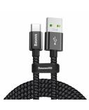 Kabelis Baseus USB2.0 A kištukas - USB C kištukas 1m, srovė iki 4.5V, 5A juodas