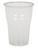 Skaidrios stiklinės šaltiesiems gėrimams, kompostuojamos (PLA)