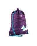 Krepšelis sportinei aprangai KITE 46x33cm violetinės sp.