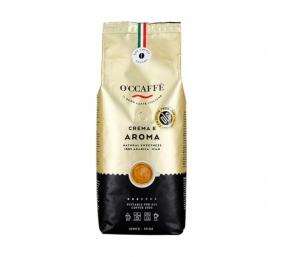 Kavos pupelės O'CCAFFE Crema e Aroma 100% Arabica 1 kg.