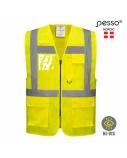 Liemenė Pesso signalinė geltona, 2XL dydis
