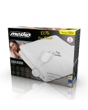 Mesko Electirc heating under-blanket MS 7419 Number of heating levels 4, Number of persons 1, Washable, Remote control, Polyester, 60 W, White