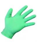 Medicininės nitrilinės pirštinės, žalios L (100vnt)