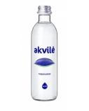 Mineralinis vanduo Akvilė, negazuotas, stikle, 0.33 l (15vnt.)(kaina nurodyta su užstatu už tarą)