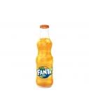 Gėrimas Fanta stikle 0,25 l x 24vnt. (kaina nurodyta su užstatu už tarą)