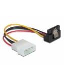 DELOCK Cable Power SATA metal clip>4pin