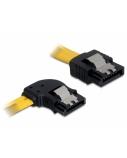 DELOCK Cable SATA 30cm left/straight met