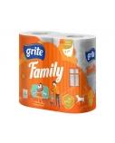 Tualetinis popierius Grite Family (6 pak. po 4vnt.)