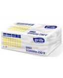 Popieriniai lapiniai rankšluosčiai Grite Economy 250 V Extra 20vnt.