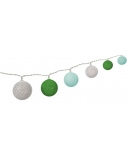 Goobay LED light chain with 10 cotton balls 66744