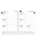 Vidaus blokas kalendoriui BUROODISAIN MANAGER Week 2020, A5