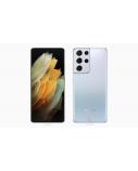 "Samsung Galaxy S21 Ultra 5G Phantom Silver, 6.8 "", Dynamic AMOLED 2X, 1440 x 3200, Exynos 2100, Internal RAM 12 GB, 128 GB, Dual SIM, Nano-SIM, 3G, 4G, 5G, Main camera 108+12+10+10 MP, Secondary camera 40 MP, Android, 11, 5000 mAh"
