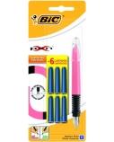 BIC Plunksnakotis Fountain Pen XPEN, BL1 + 6 kapsulės, 941603
