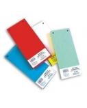Skirtukai dokumentams SMLT kartoniniai 11x23,5cm  50vnt. raudoni