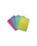 """Sąsiuvinis, """"SMLT"""", A4/96 lapų, su plastikiniu viršeliu ir spirale"""